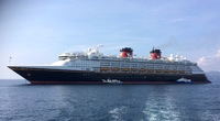 Disney Magic in the Port of Cannes