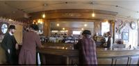 Inside the Mascot Bar in Skagway.  The Mascot Bar is part of the Klondike G