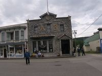 The Artic Brotherhood Building is the most photographed building in Alaska.