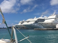 Multiple Ships in Nassau
