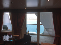Obstructed Balcony Penthouse Suite 1025 Seabourn Sojourn