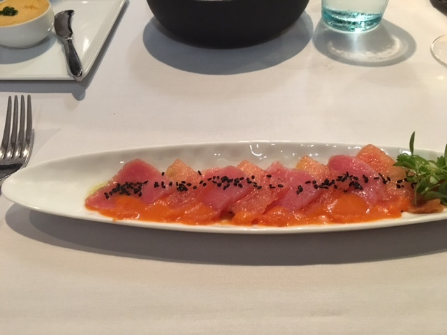 Tuna and Watermelon starter - Bayamo