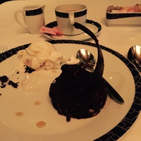 Chocalate Lava Cake in Cagneys