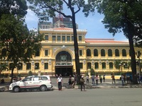 Post office in Ho Chi Minh