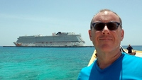 Norwegian Getaway docked in Costa Maya.