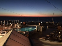 Eurodam - Lido pool deck and bar (adults only)