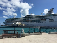 Grandeur of the Seas in Bermuda