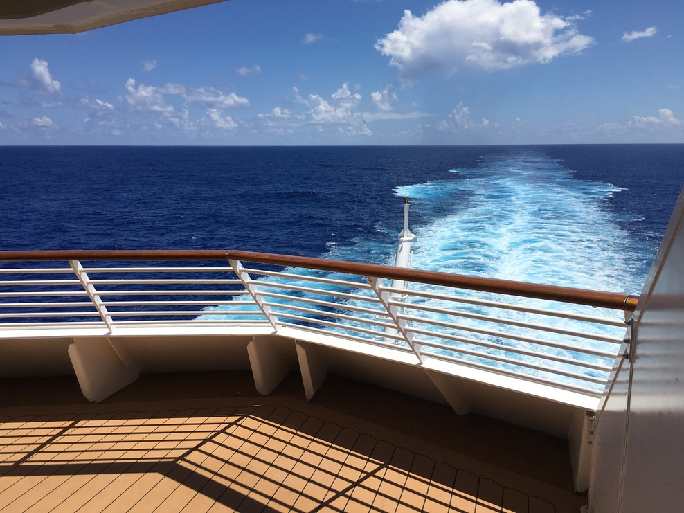 Cabin on disney fantasy cruise ship cruise critic for Cruise ship balcony view