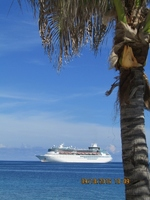 Majesty of The Seas...taken from CoCoCay