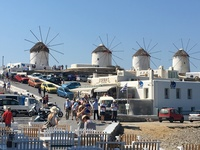 Windmills of Mykonos.