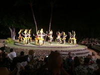 Luau entertainment in Maui