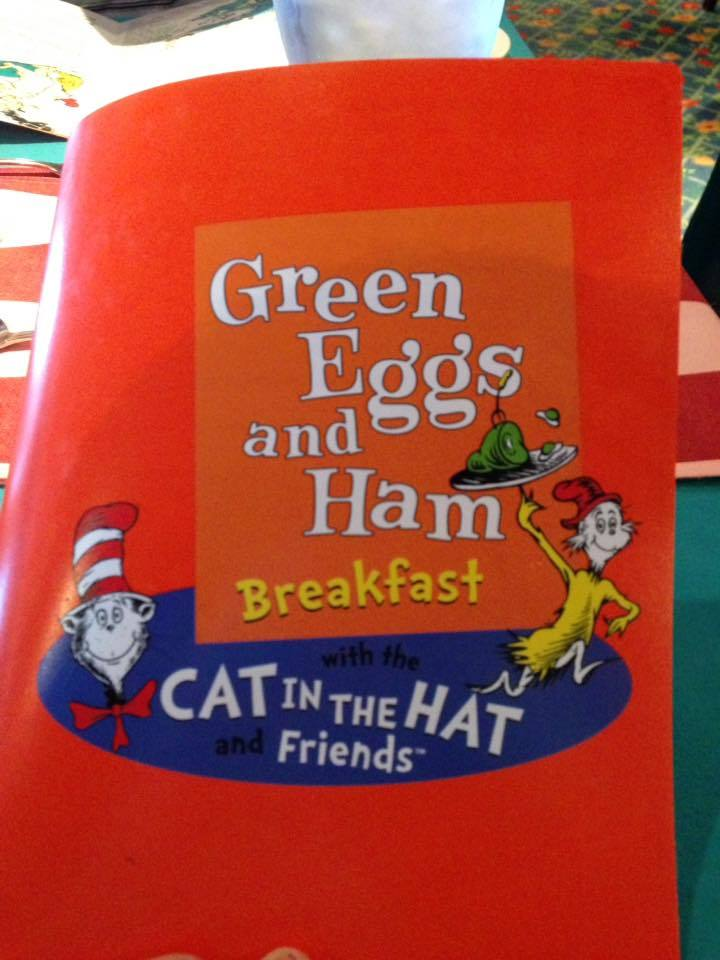 Cat In The Hat breakfast
