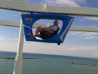 The skyrider was ok. please have a go as it is not difficult or exhausting.
