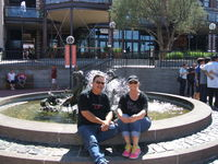 Ghirardelli square, no chocolate in this fountain.