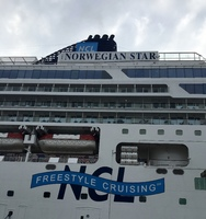 This is  the STAR of the cruise the NCL STAR!!!!!