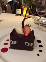 Norman Love Chocolate Journey dessert in Sabatini's