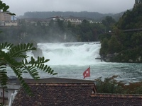 Rhine Falls. Well worth the $$.