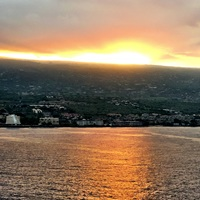Sunset over Kona