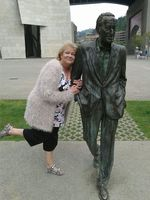 My sister found a hard man in Bilbao.