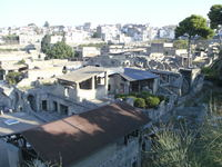 Re-discovered village of Herculaneum