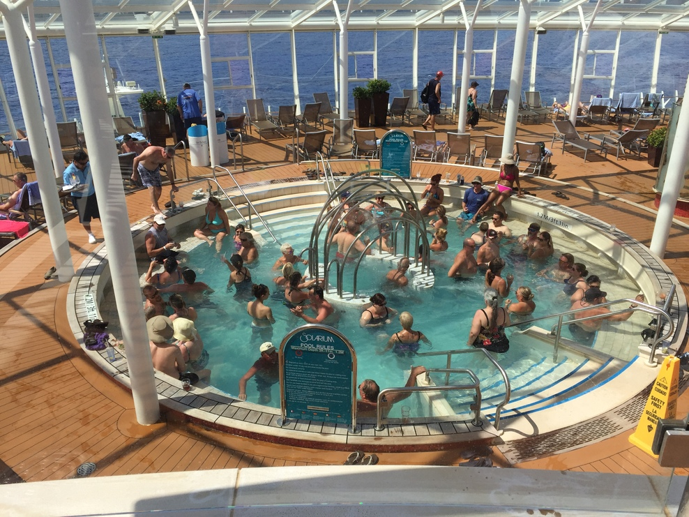 Pool Spa Fitness On Royal Caribbean Allure Of The Seas Cruise Critic