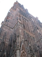 The Notre Dame Cathedral in Strasbourg, France.