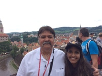 From atop the castle in Czech Republic
