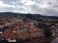 At Czeky Krumlov