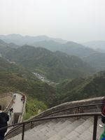 Climbing the Great Wall!