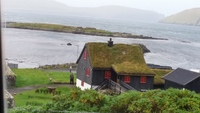 Faroe Islands, thatched roof