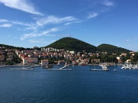 The port in Dubrovik, Croatia