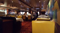 Cagney's. I felt it to be the best restaurant on the ship for service a