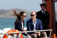 Prince William and Kate visit the Wind Surf at Scylli Isle