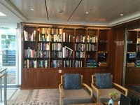 The library on board the Alruna