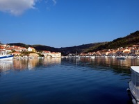 This is a photo of a beautiful Bay in Croatia.
