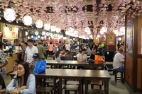 Ala Monana  shopping mall Japanese food court.