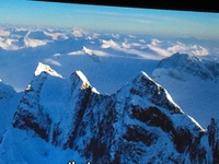 ALASKAN MOUNTAINS FROM HELO