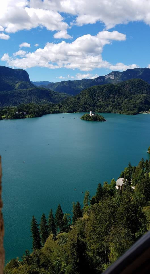Lake Bled & Bled Castle in Slovenia