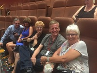 This is a group of people I met aboard the Carnival Legend.  We became fast