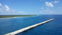 The view of Cozumel from the Thermal Spa
