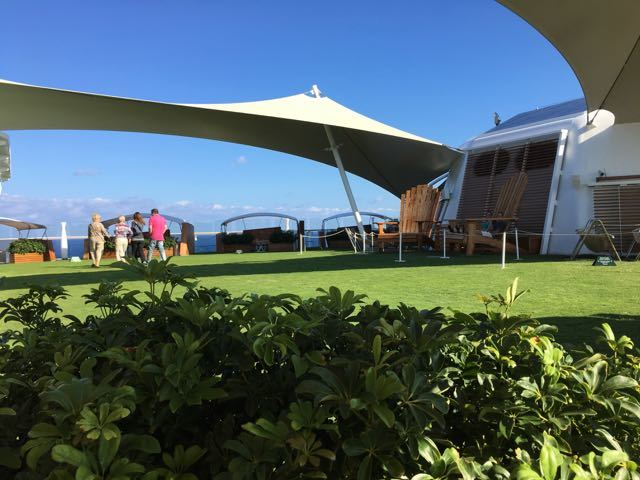 The Lawn Club on Deck 15.