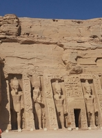 Queen's temple at Abu Simbel