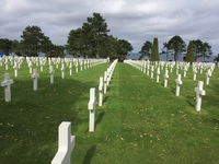 Normandy cemetery.