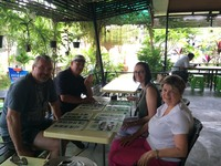 Lunch in Cambodia with Mr Bunkea