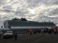 Taken at Southampton when we got of the ship on Friday