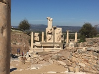 Ruins of Ephesus accessed from Kusadasi