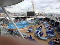 Nice pool on deck 9