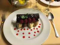 The decadent dessert in the Ultimate Balcony Dining experience!