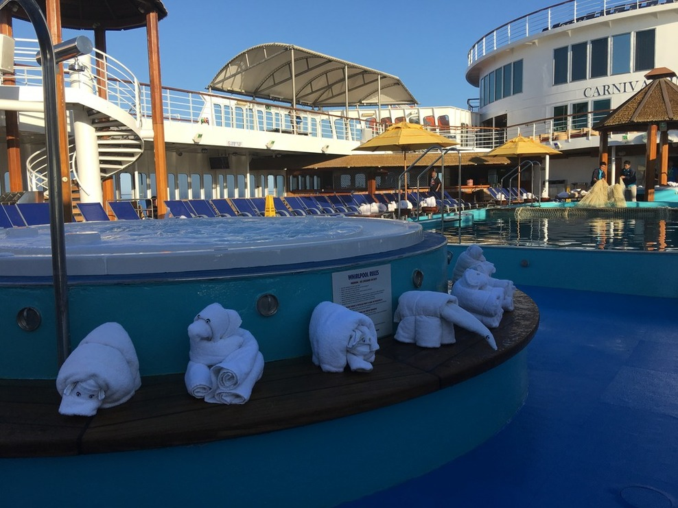 Pool Spa Fitness On Carnival Imagination Cruise Ship