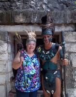 Photo op in Cozumel during the 10 Best of Cozumel excursion